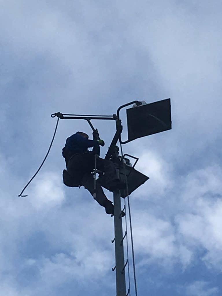 NEO in de wolken met nieuwe LED-verlichting | RKSV NEO