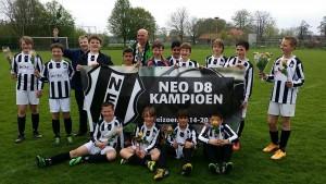 NEO D8 kampioen